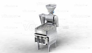 Descascaradora de cacao / clasificador de nibs