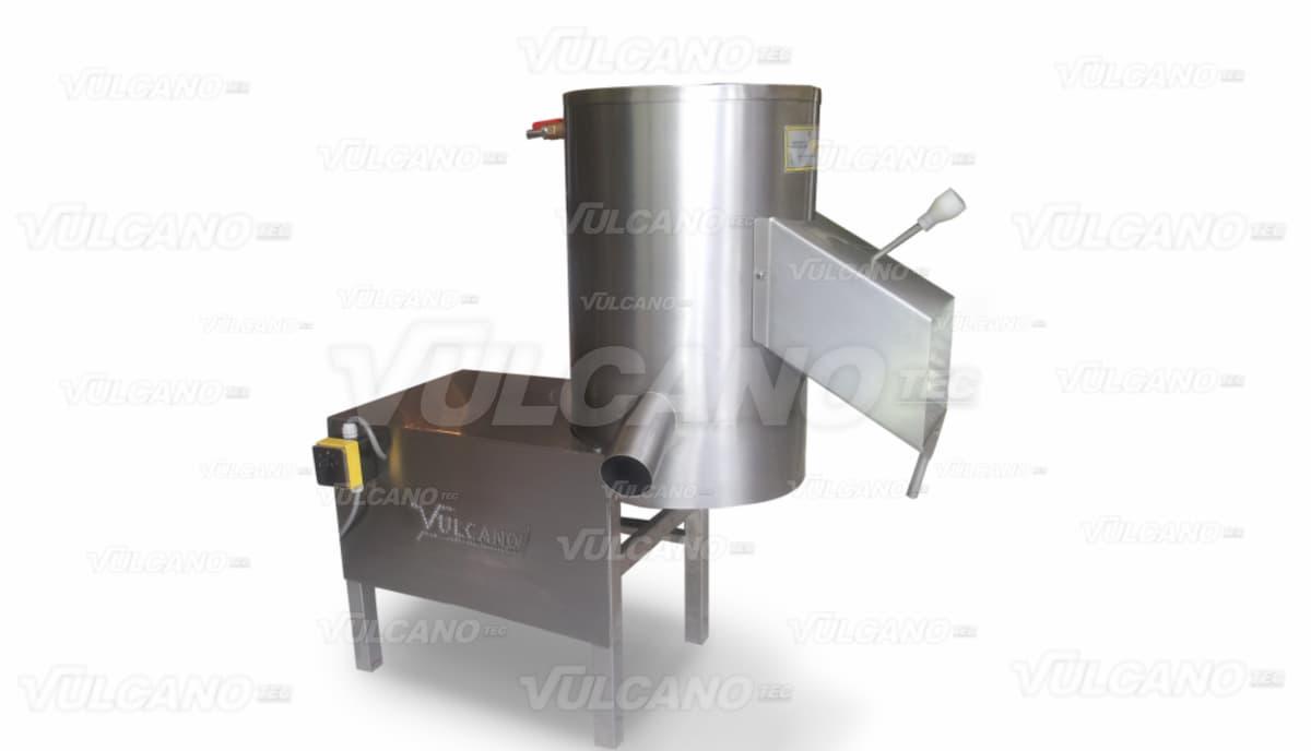 Lavadora peladora de tuberculos