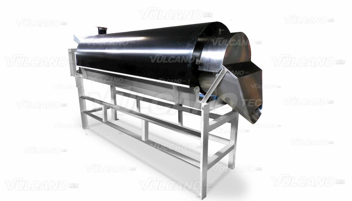 Secadora rotativa - Vulcanotec