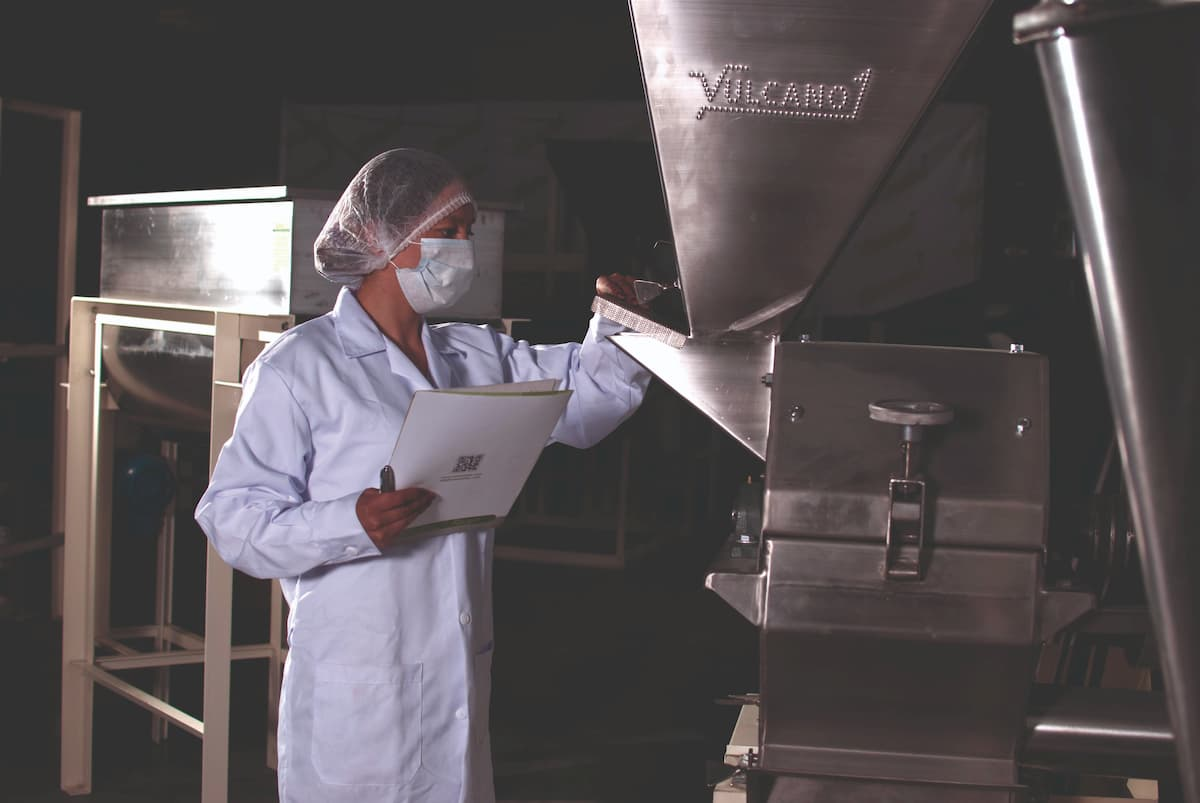 Servicios Vulcanotec, food sector, Industria alimentaria