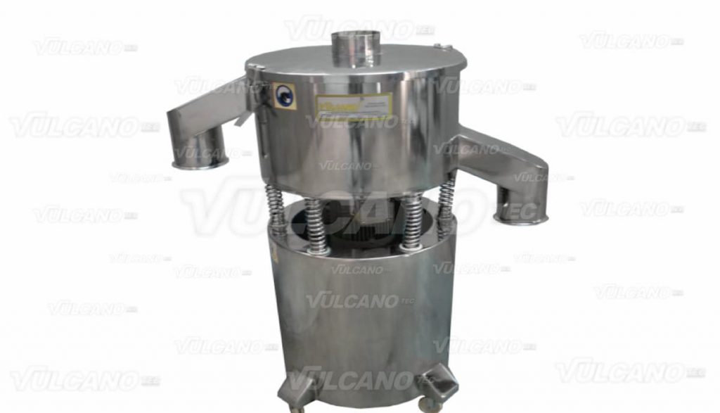 Circular vibrating sieve machine