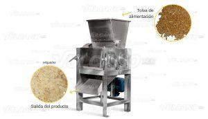 Laminadora de Cereales - prueba con Avena